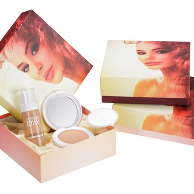 individual cardboard box for packaging make-up