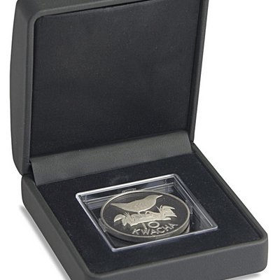 noble black coin case for coin capsules
