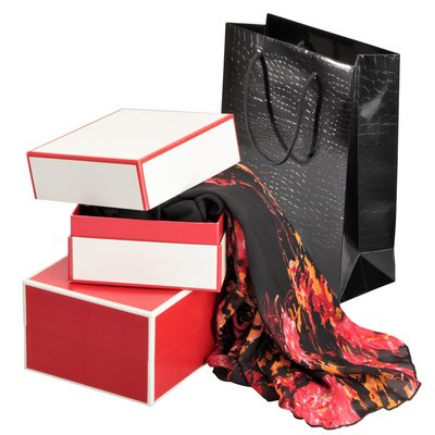High-quality product packaging for ladies' dresses and accessories