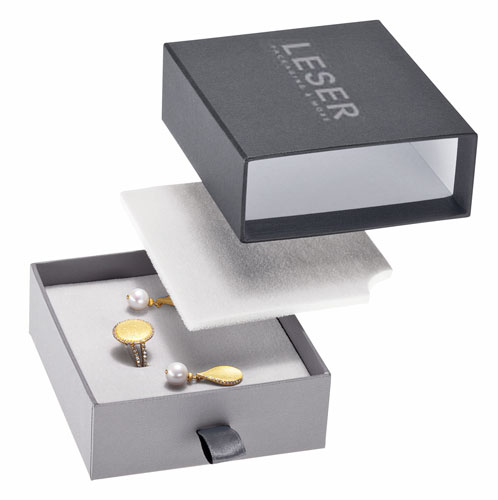 LESER noble drawer box with foam insert and additional foam cover