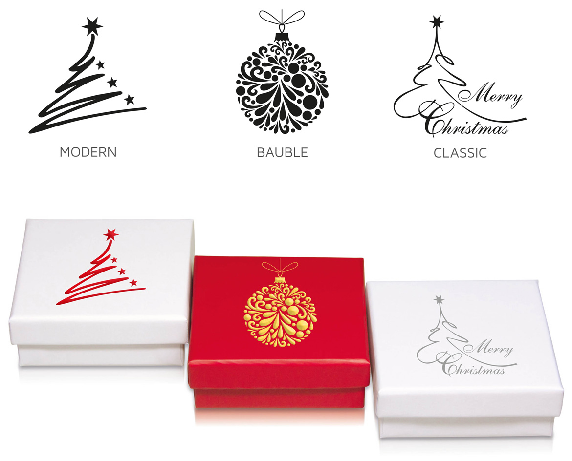 Customize your Christmas packaging: Choose Series, Theme & Foil Color