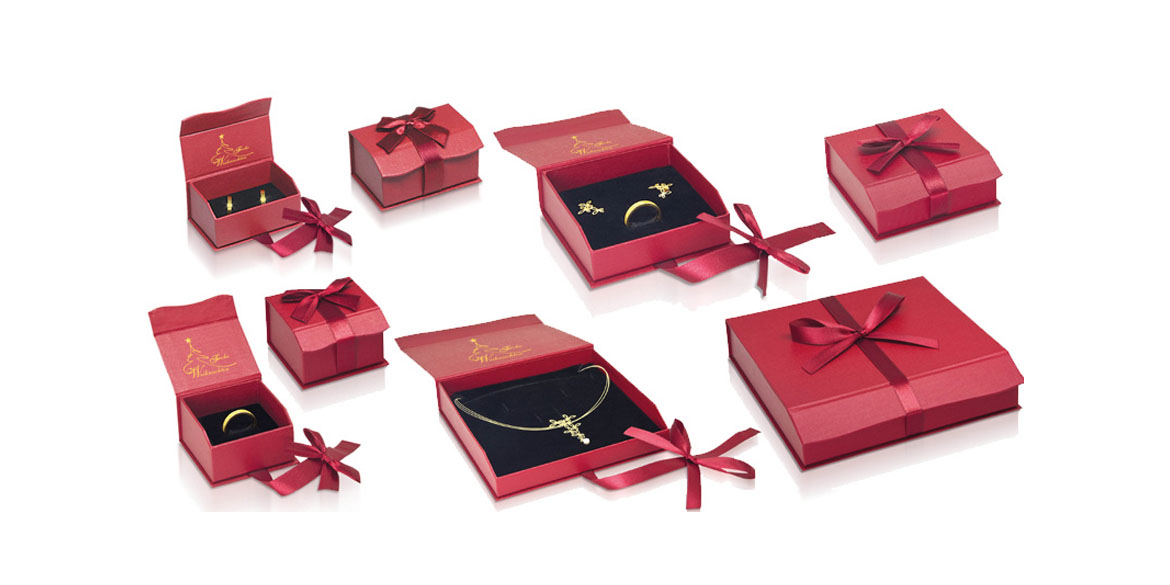 Christmas packaging: Jewellery boxes for Christmas