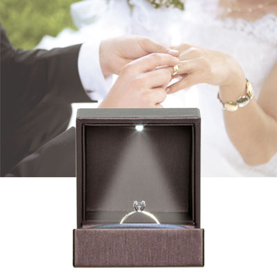 Teaser cases for application rings and wedding rings - Ring cases for the most beautiful days in life