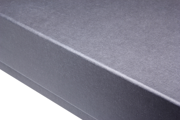 Detail photo of the surface of the record packaging