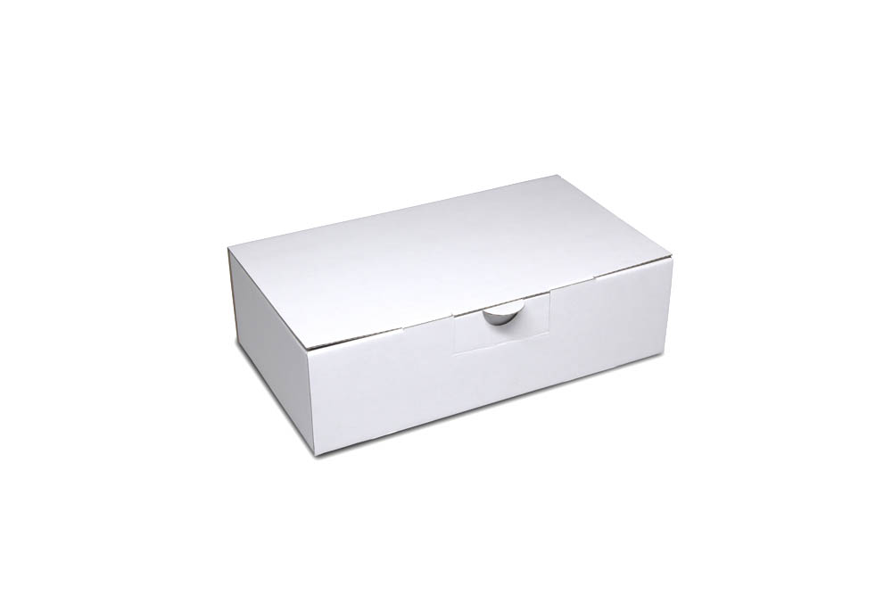 Corrugated cardboard shipping box: size 1: 242x133x67 mm - even in small quantities
