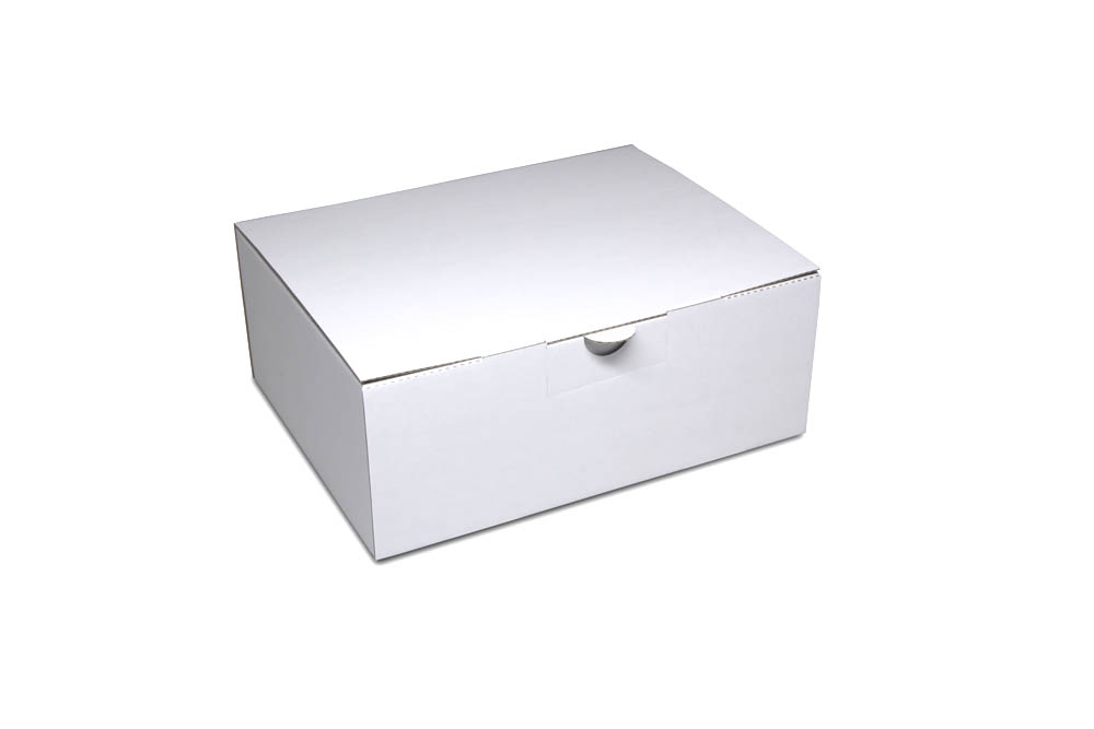 Corrugated cardboard mailer box: size 2: 242x184x93 mm - even in small quantities