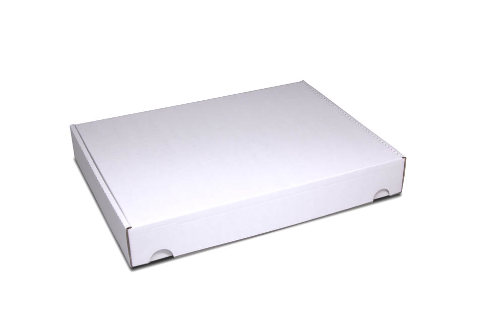Corrugated cardboard mailer box: size 5: 315x240x45 mm - already in small quantities