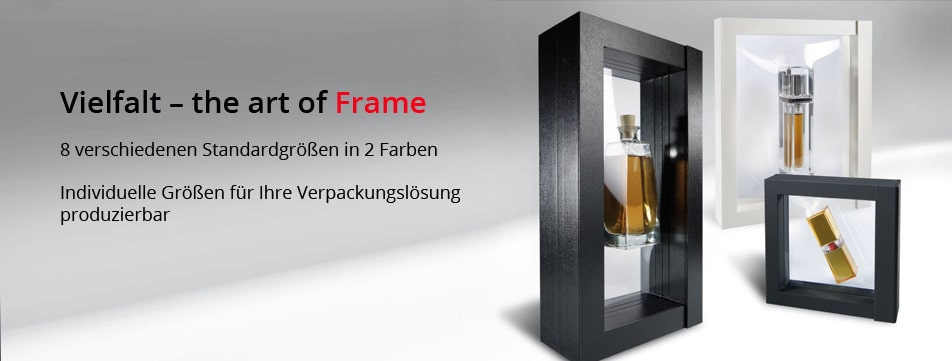 Discover our exclusive FRAME - floating frames - directly from the manufacturer!