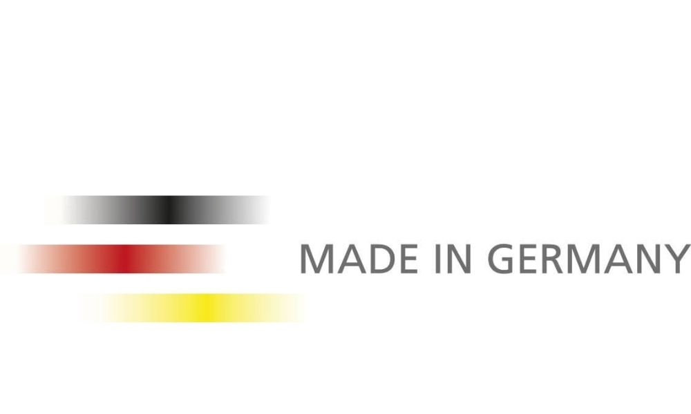 Made in Germany means shorter delivery times and increased flexibility.